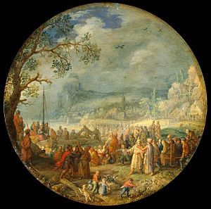 David Vinckboons - Sermon of Christ at the Lak...