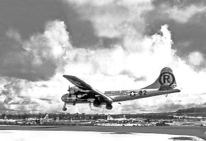MARIANAS ISLAND -- Boeing B-29 Superfortress &...