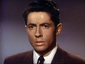 Cropped screenshot of Farley Granger from the ...