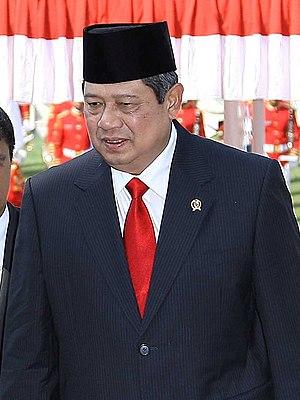 English: Susilo Bambang Yudhoyono, President o...