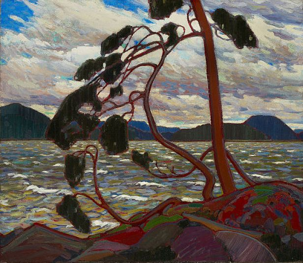 """""""The West Wind"""" by Tom Thomson"""