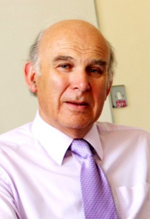 Vince Cable United Kingdom Business Secretary ...