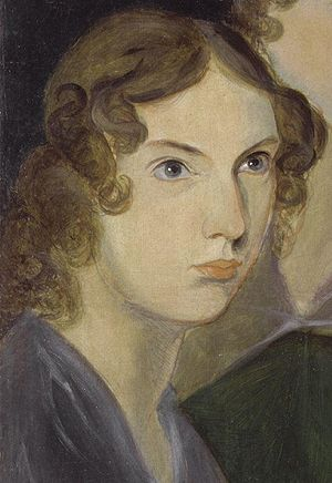 Anne Brontë, as painted by her brother Patrick...