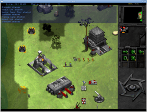 Screenshot of Bos Wars 2.5 RTS game.