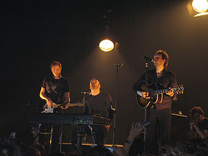 Coldplay in Barcelona, 2005.