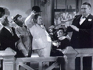 English: Publicity photo for The Three Stooges...