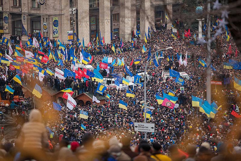 Euromaidan (2013), Kiev (Ucrania) / Wikimedia Commons
