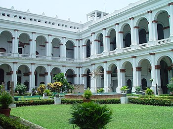 The Indian Museum, Kolkata, also the headquart...