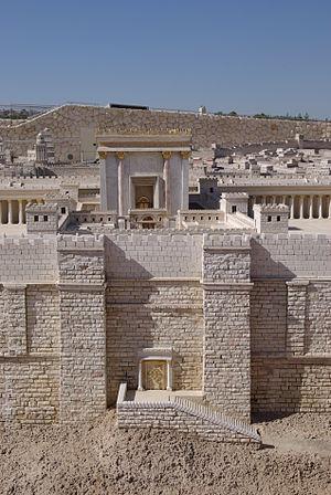 Jerusalem Model, Temple of Herode