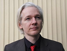 Julian Assange, Picture from Wikipedia