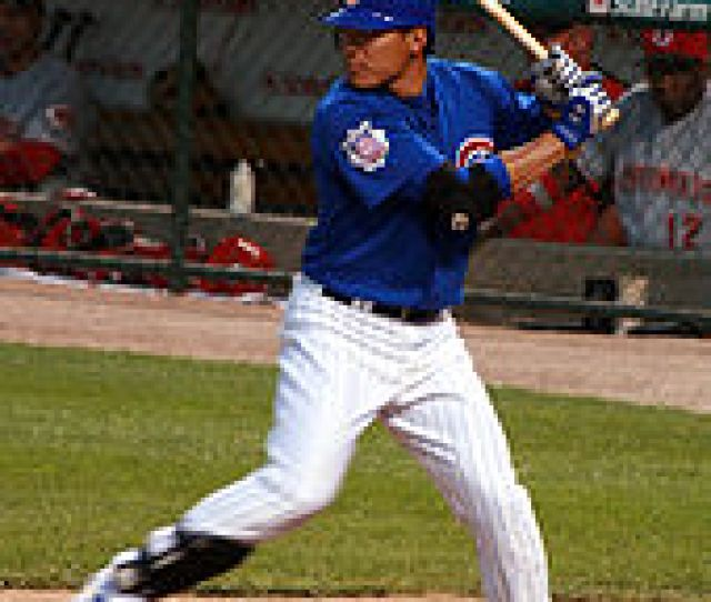 Fukudome With The Cubs In 2008