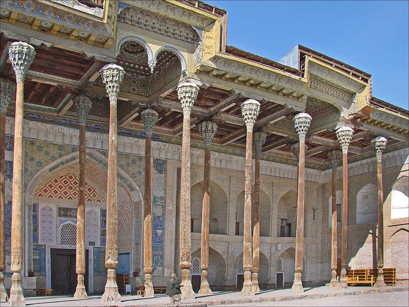 L'iwan de la façade de la mosquée Bolo Haouz.