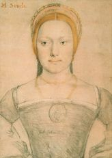 Mary Zouch by Hans Holbein the Younger