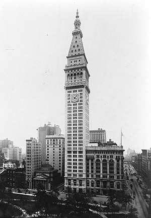 English: Metropolitan Life Bldg., Manhattan, N...