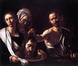 Michelangelo Merisi da Caravaggio - Salome wit...