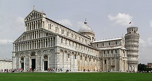 English: Cathedral of Pisa (Duomo di Pisa), Pi...