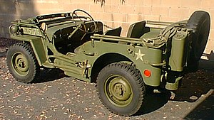 Photo of correctly restored 1945 WWII Willys M...