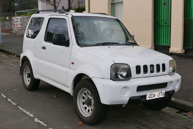 We rented a Jimny 4x4 for driving around the Nicoya Peninsula. Although it doesn't have much power, it did the trick! Photo credit: Wikimedia Commons