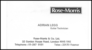 This is a scan of a business card given to me ...