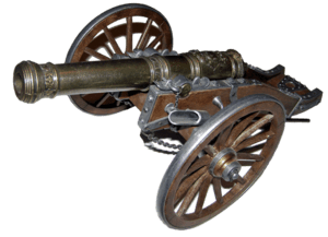 Cannon Model - Part of my military models coll...