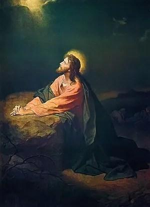 Christ in Gethsemane (Christus in Gethsemane),...