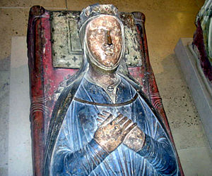 Isabelle d'Angoulême, tombe dans l'église de l...
