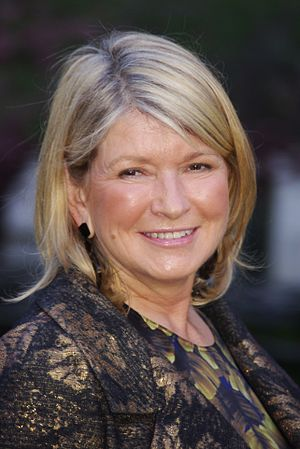 Martha Stewart at the Vanity Fair party celebr...