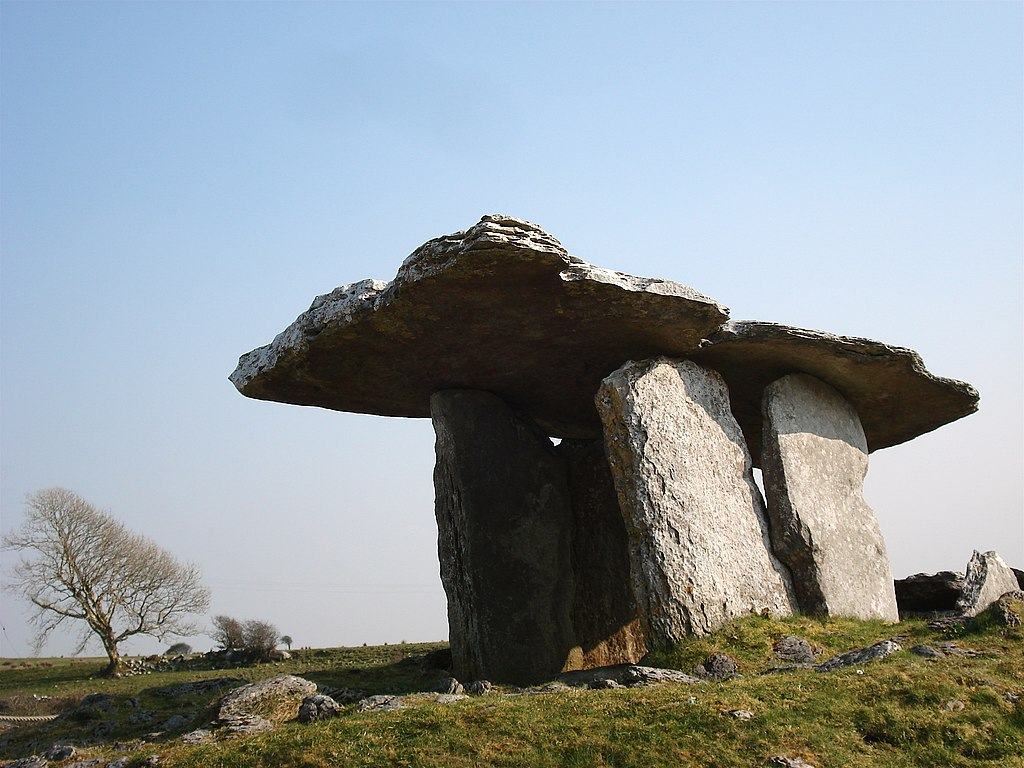 File Poulnabrone Dolmen The Burren Co Clare Jpg