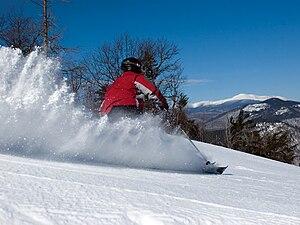 skiing at attitash