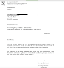 Luxembourg Leaks Wikipdia
