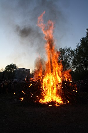 English: The celebration of Walpurgis Night - ...
