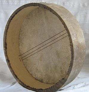 The bendir, a frame drum from North Africa