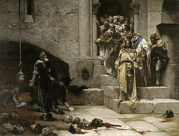 Español: La campana de Huesca (1880), de José ...