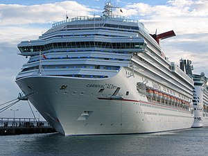 Carnival Glory at Saint Martin