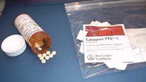 Tablets and Patches of Clonidine, Comprimés et...
