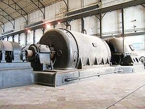 After its closure, Zwevegem Electric Power Pla...