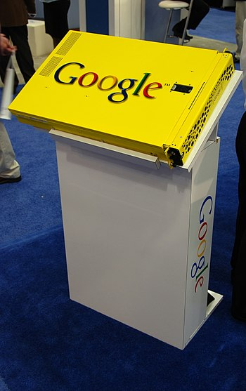 Google Appliance as shown at RSA Expo 2008 in ...