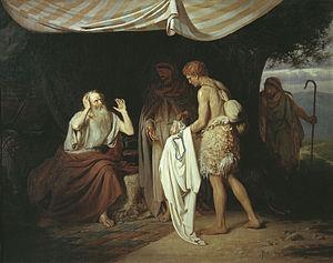 Jacob recognizes Joseph's clothing // Иаков уз...