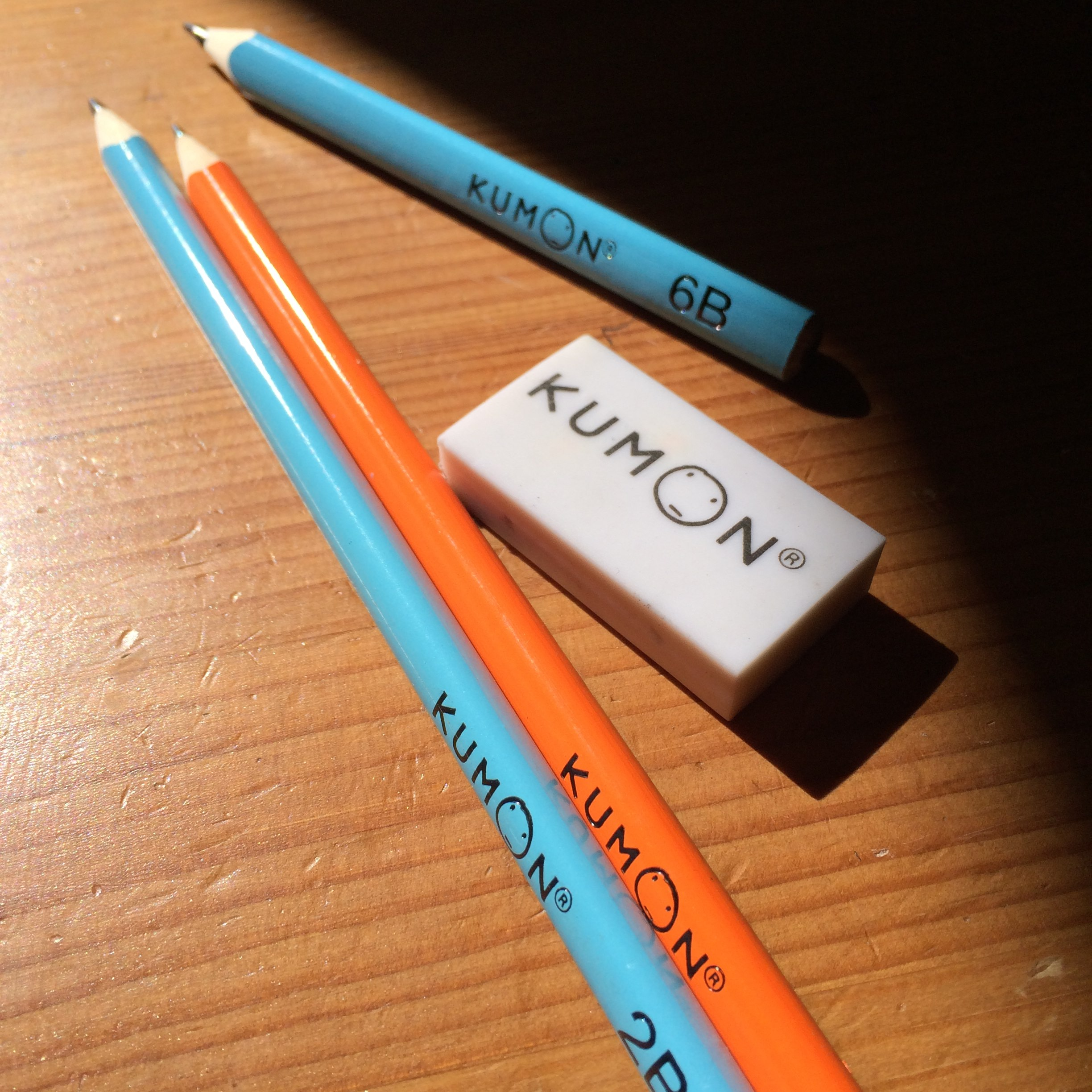 File Kumon Pencils Eraser