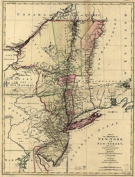 New Jersey New York pennsylvania map wikipedia