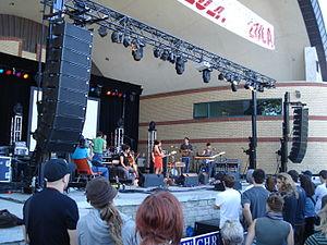 Ohbijou performing in London, Ontario during L...