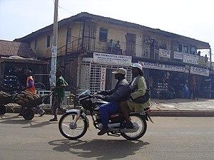 Nigerian motorcycle