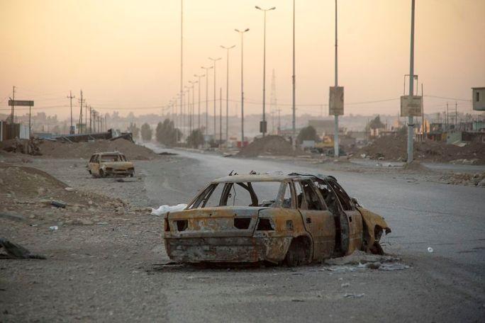 Outskirts of Mosul, Northern Iraq, Western Asia. 17 November, 2016