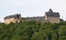 Schloss Waldeck oberhalb Waldeck
