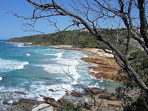 Coolum Beach, looking south