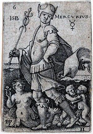 Beham, (Hans) Sebald (1500-1550): Mercury, fro...