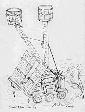 siege engine of Middle Age