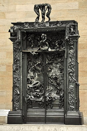 La Porte de l'Enfer (The Gates of Hell) by Aug...