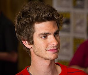 Actor Andrew Garfield at the 2011 San Diego Co...