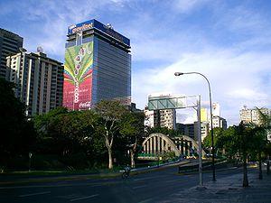 Torre Movilnet en Caracas.